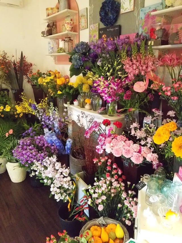 花の店弥生 お祝いスタンドからお供え、観葉植物まで幅広く取り扱う上野幌の花屋