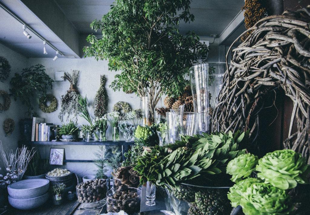 Jaz flower shop ジャズフラワーショップ 札幌中央区の花屋 ドライフラワー商品多数、個性的でオシャレな店